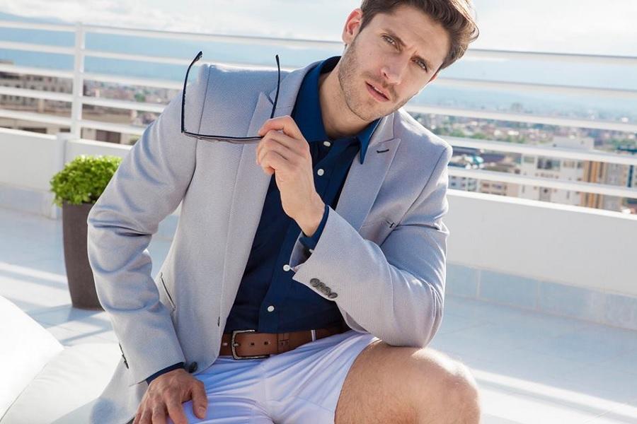 Cómo combinar un pantalón blanco de hombre| Almanza