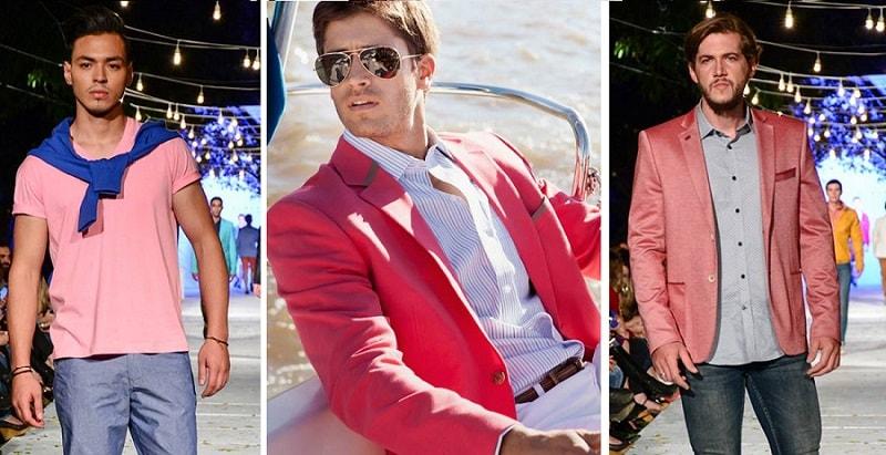 Tipos de rosados para hombres