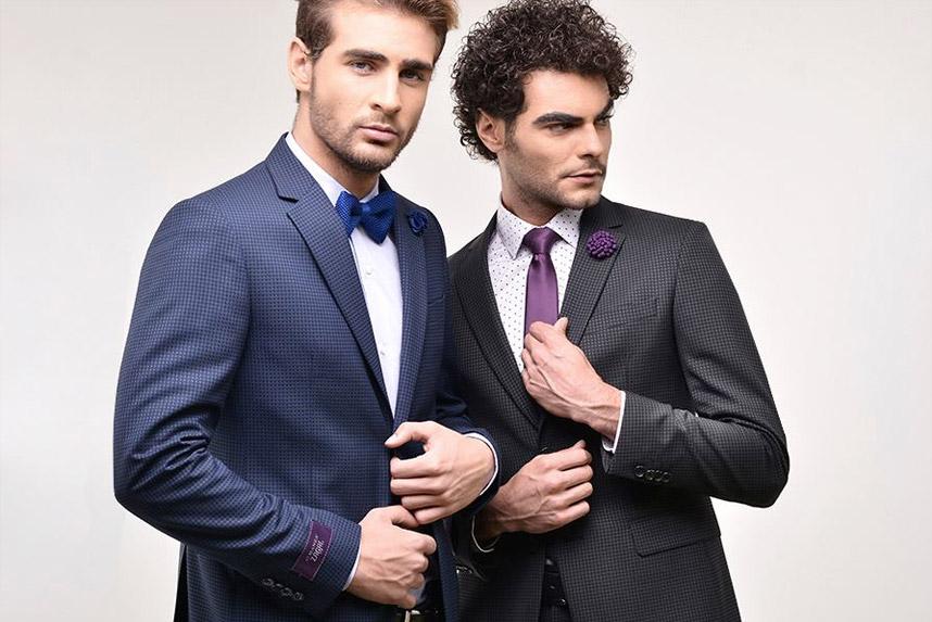 La posición correcta de la corbata según un hombre ALMANZA.