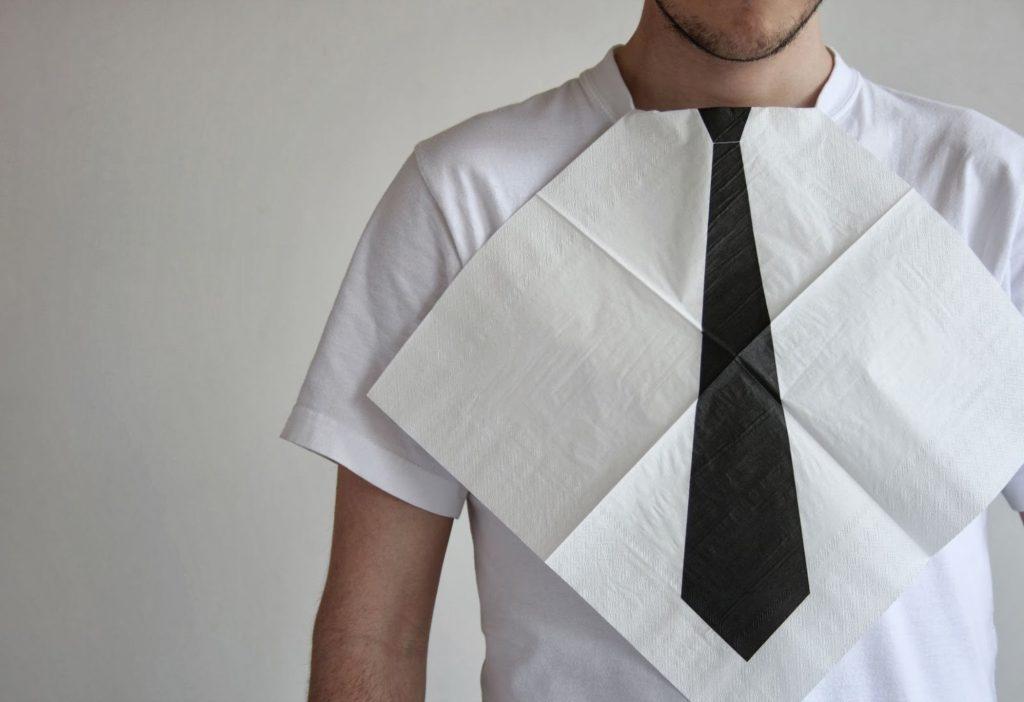 Evita un traje con manchas